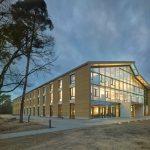 Deutschlands wichtigster Architekturpreis für nachhaltige Gebäude geht in diesem Jahr an den Neubau der Alnatura Arbeitswelt in Darmstadt. Bild: Roland Halbe