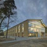 Alnatura Campus – Neubau der Alnatura Arbeitswelt, Darmstadt. Bild: Roland Halbe