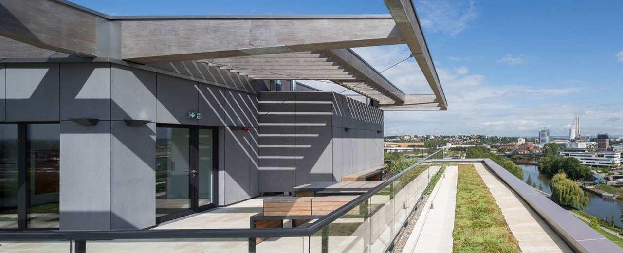Holzhochhaus Skaio in Heilbronn, Finalist beim Deutschen Nachhaltigkeitspreis Architektur