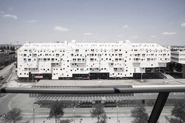 Gewinner Objektbau: das Projekt Doninpark Wien. Bild: Jasmin Schuller