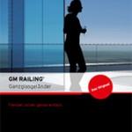 """2. Platz Kompaktinfos: Broschüre """"Ganzglasgeländer GM Railing"""" - Glas Marte"""