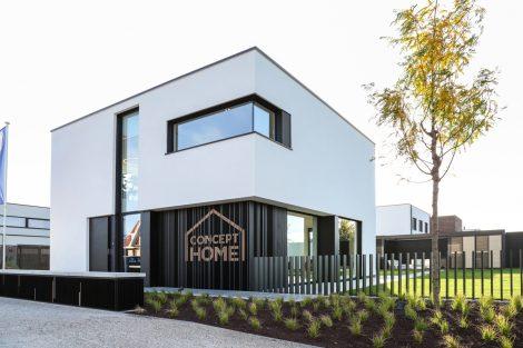 Mit dem Concept Home startet Renson ein Testgebäude für gesundes Wohnen. Bild: Renson