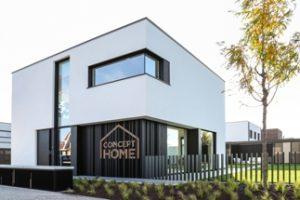 Ein neu erbautes Einfamilienhaus in Waregem, Belgien, dient als Testgebäude für energieeffizientes, komfortables und gesundes Wohnen. Bild: Renson