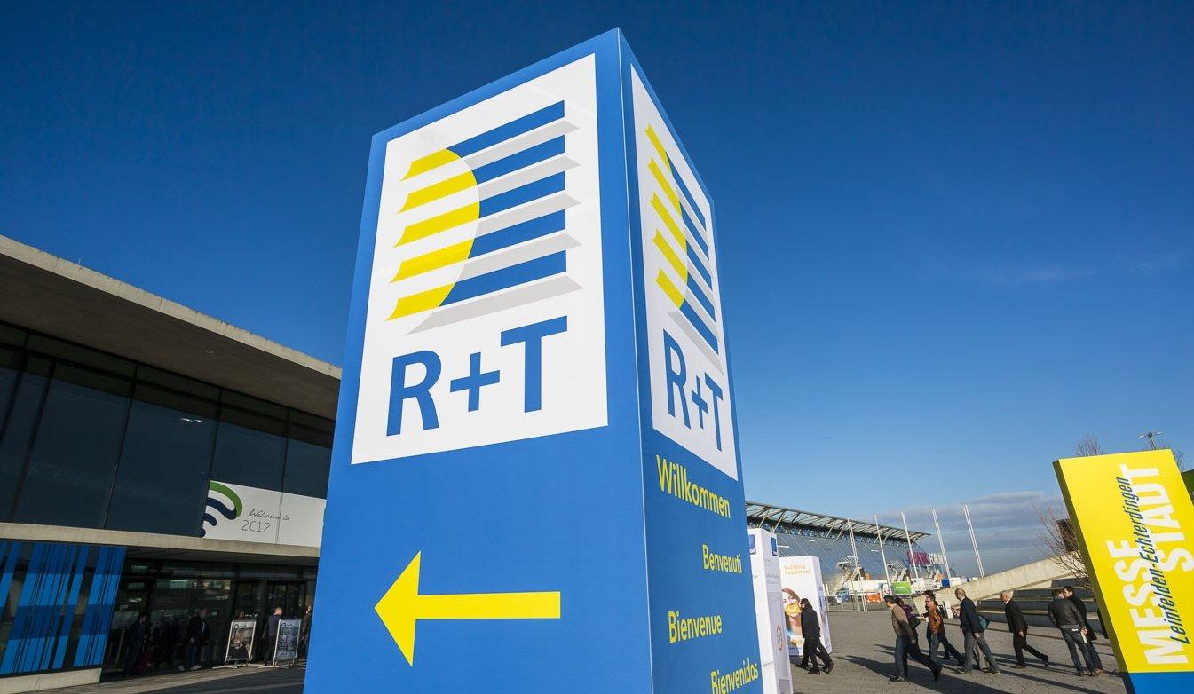 Die R+T 2018 findet vom 27. Februar bis zum 3. März 2018 in Stuttgart statt. Bild: R+T