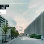Kunstmuseum in Lausanne mit weißgrauer Klinker-Fassade