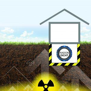 Hauseinführungen sollten zuverlässig gasdicht sein und den Eintritt von Radongas verhindern bzw. erschweren. Bild: FHRK