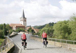 Die Brücke der Einheit nach Vacha. Bild: Jürgen Ritter