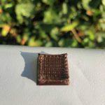 Bauteil aus Biokunststoff, hergestellt im 3D-Druck-Verfahren