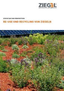Broschüre Re-use und Recycling von Ziegel
