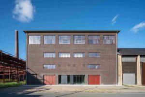 Die denkmalgeschützte Salzfabrik auf dem Gelände der Zeche Zollverein, heute energetisch saniert per Innendämmung.