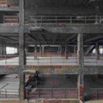 Originalzustand: Innenraum der ehemaligen Salzfabrik der Kokerei Zollverein in Essen.