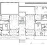 Grundriss EG. Zeichnung: Heinle, Wischer und Partner Freie Architekten