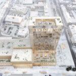 Holz-Hochhaus Sara Kulturhus von White Arkitekter