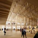 Innenansicht vom Sara Kulturhus von White Arkitekter