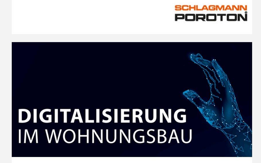Key Visual Seminar Digitalisierung im Wohnungsbau