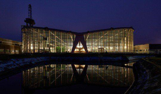 Sendehalle »Radio Europe 1« in Berus ist historisches Wahrzeichen der Ingenieurbaukunst