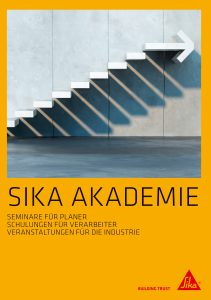 Die Sika-Akademie bietet auch 2018 wieder Seminare zu den Themen Flachdachabdichtung sowie Bauwerksabdichtung an. Bild: Sika