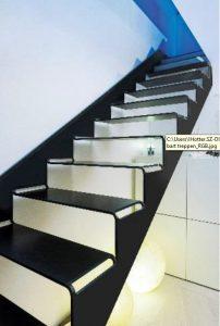"""Stahl-Innovationspreis 2015: Die Treppe """"cut-it"""" von Spitzbart Treppen war einer der Gewinner. Bild: Spitzbart Treppen"""