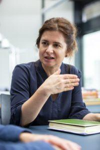 Gudrun Rauwolf, Doktorandin der Architekturpsychologie an der TU Berlin