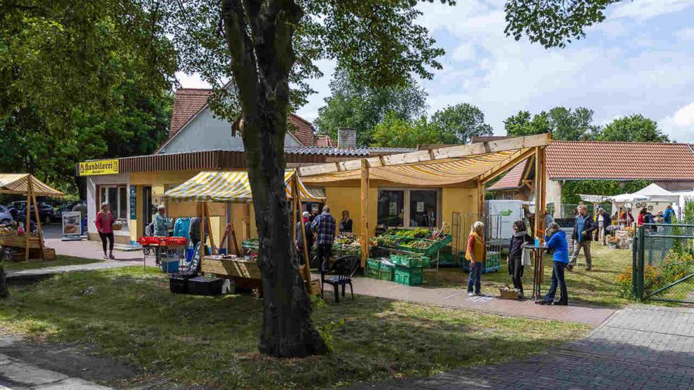 Dorfladen in Golzow. Bild: Christoph Große / Sto-Stiftung