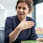 Dipl.-Psychologin und Doktorandin Gudrun Rauwolf will Gestaltungswissen interdisziplinär nutzbar machen. Bild: Sto-Stiftung / Christoph Große