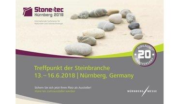 Am 13. Juni wird auf der Stone+tec 2018 in Nürnberg der Deutsche Naturstein-Preis 2018 verliehen. Bild: Stone-tec