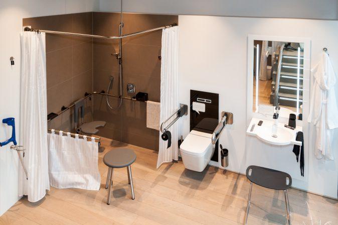 """In der für Architekten konzipierten Seminarreihe """"Das Bad im Wandel"""" informiert die Tece Academy ausführlich über barrierefreie Badplanung."""