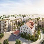 Wohnen, Arbeiten, Leben der Zukunft: kupa setzt Trends in der Quartiersentwicklung. Bild: Bauwerk Capital GmbH & Co.KG