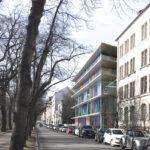Entwurf für ein Hospiz in der Münchner Innnenstadt