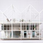 Entwurf für ein Hospiz in der Münchner Innenstadt mit großzügiger Dachterrasse.