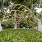 Mini-Pavillondach aus 3D-Formen