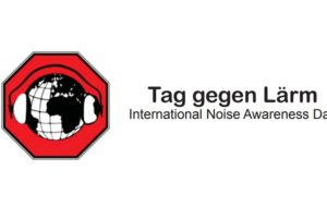 Tag gegen Lärm / International Noise Awareness Day Logo