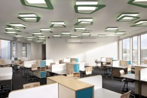Für eine Grundschule in Clenze (Niedersachsen) haben Lichtplaner von Peter Andres aus Hamburg ein ausgewogenes Tages- und Kunstlichtkonzept entwickelt. Bild: Rainer Erhard