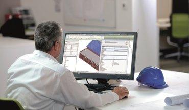Tata Steel hat ein neues BIM-Online-Tool entwickelt: den BIM DNA Profiler. Er enthält BIM-Objekte und -Produktdaten von über 6 000 Markenprodukten. Bild: Tata Steel