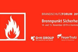 Das Brandschutzforum 2019 findet am 14. und 15. November in Darmstadt statt und informiert u.a. über neue bauordnungsrechtliche Regelungen.