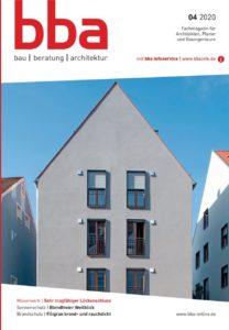 Cover Architektenfachzeitschrift bba