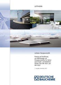 Der neue Leitfaden Flüssigkunststoffe steht als kostenloser PDF-Download zur Verfügung. Bild: Deutsche Bauchemie