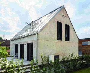 Einfamilienhaus aus Infraleichtbeton
