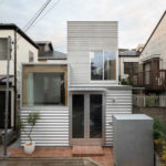 Minihaus in Tokio von Unemori Architects als urbane Nachverdichtung