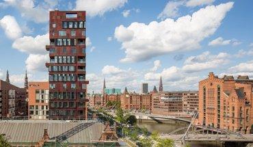 Cinnamon Turm im Hamburger Areal Altes Hafenamt. Bild: Christian Richters