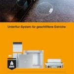 """3. Platz Kompaktinfos: Broschüre """"Unterflursysteme für geschliffene Estriche"""" - Obo Bettermann"""