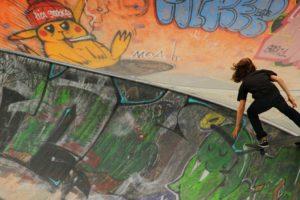 Skate-Anlage als urbaner Freiraum und wichtiger Bestandteil einer gesundheitsförderlichen Stadtentwicklung