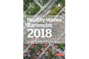Gesundes Wohnen: Das Healthy Homes Barometer besteht aus einer Reihe von europaweiten Studien mit dem Ziel, die Beziehung zwischen Gebäuden und der Gesundheit von Menschen zu untersuchen. Bild: Velux