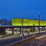 Nominiert für den Lichtdesign-Preis in der Kategorie Verkehrsbauten: Bahnhof Oerlikon in Zürich. Lichtplanung: lichtgestaltende ingenieure vogtpartner. Bild: René Dürr