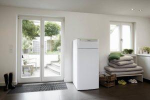 Heizsystem Wärmepumpe. Bild: Wärme+/Vaillant
