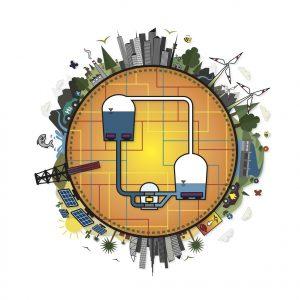 Kombinierte Energiespeicher sind die Schlüsseltechnologie in der Zukunft der weltweiten Energieversorgung. Bild: Pikl / TU Graz