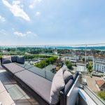 Fantastischer Blick über Radolfzell und auf den Bodensee vom Hotel aquaTurm aus. Bild: SEM`S Media Michael Schellinger