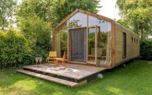 Haus aus Pappe von Wikkelhouse, , prämiert beim Nachhaltigkeitspreis Design