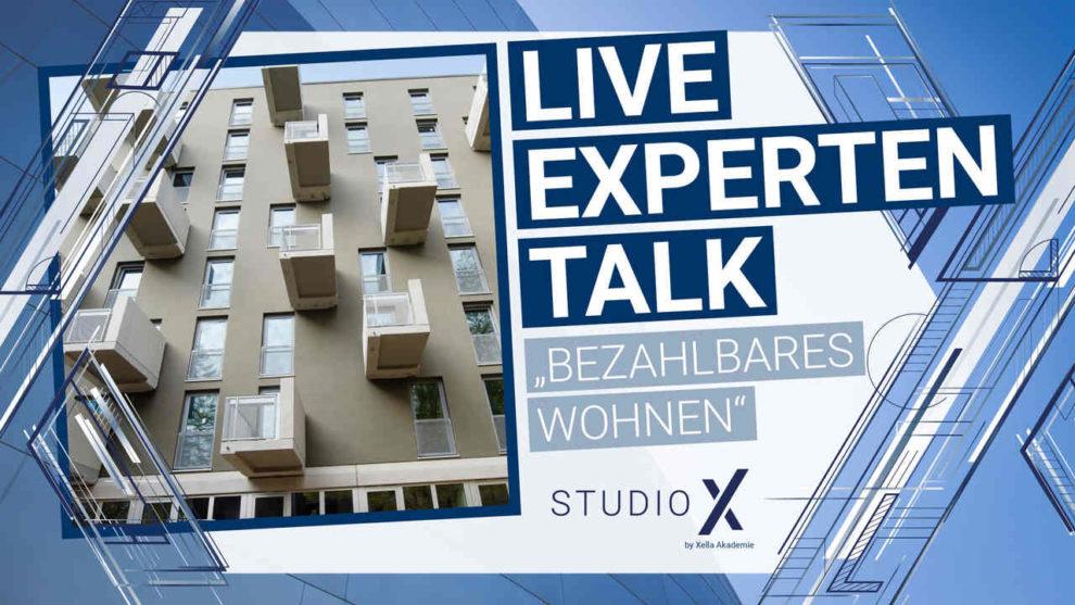 Key visual vom Xella Live Talk Studio X mit Graft