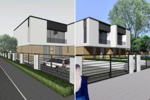 Visualisierung eines Hauses mit Xuver